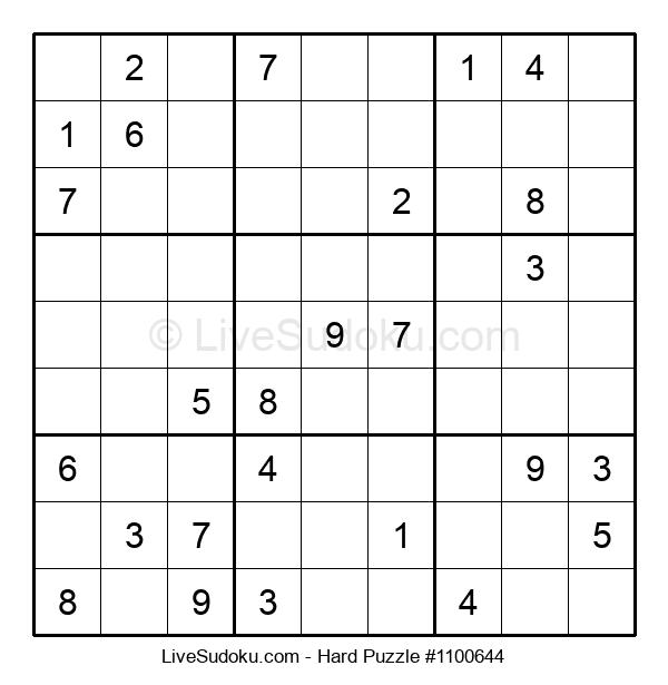 Hard Puzzle #1100644