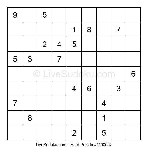 Hard Puzzle #1100652