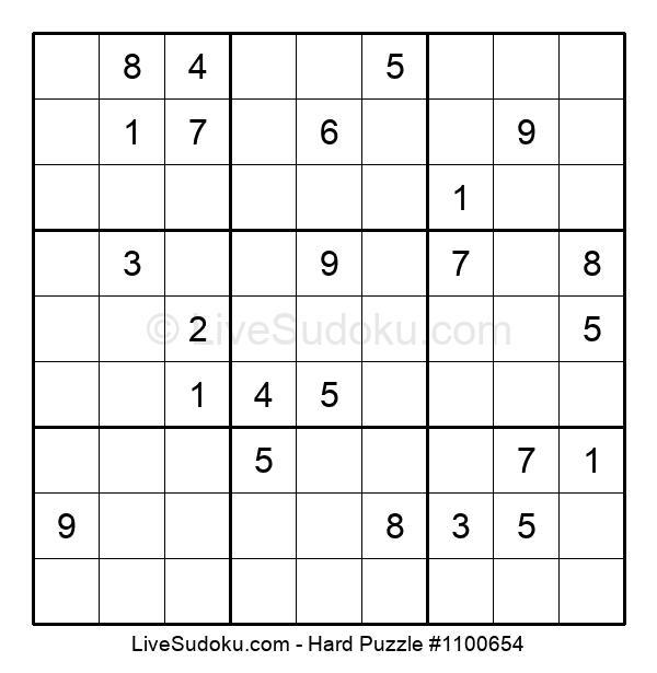Hard Puzzle #1100654