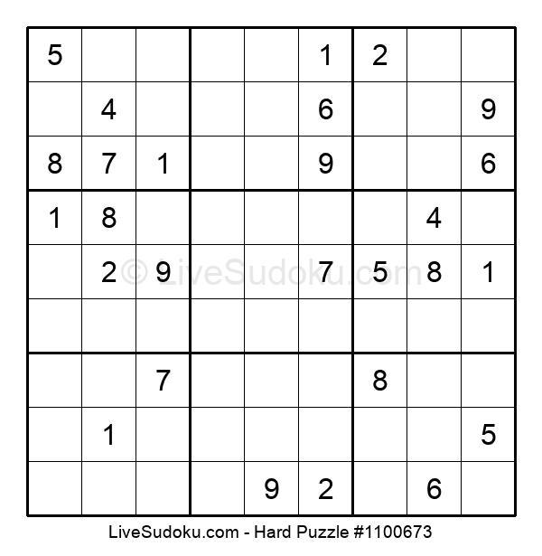Hard Puzzle #1100673