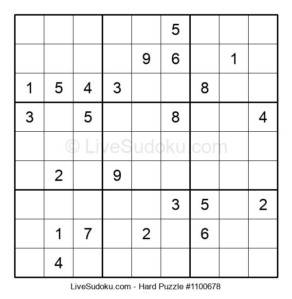 Hard Puzzle #1100678
