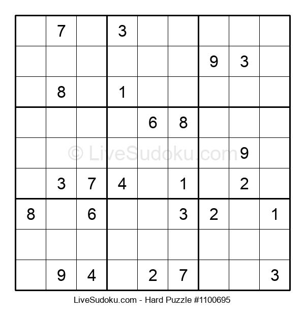 Hard Puzzle #1100695