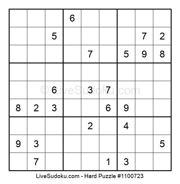 Hard Puzzle #1100723