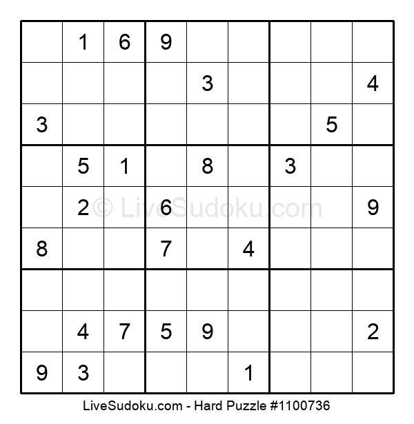 Hard Puzzle #1100736