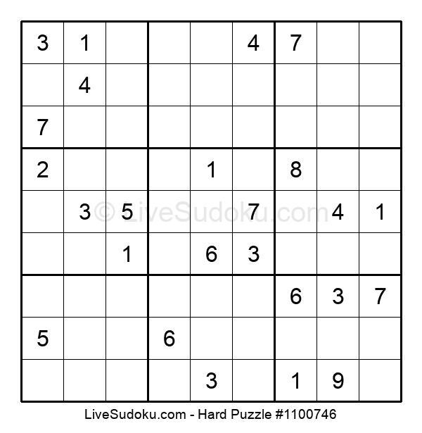 Hard Puzzle #1100746