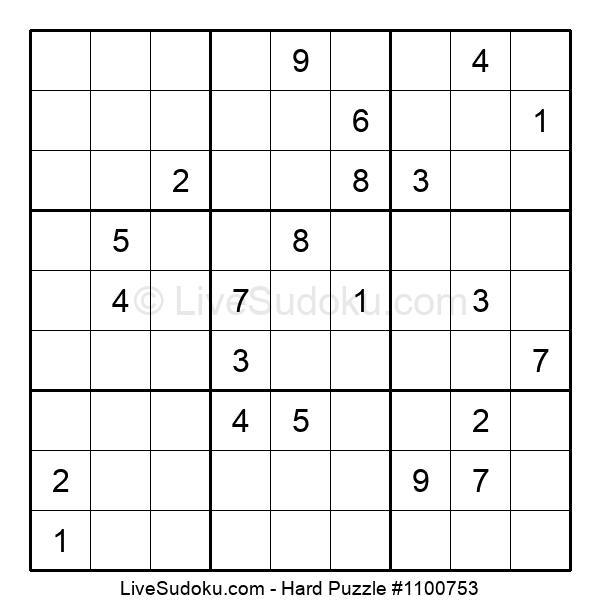 Hard Puzzle #1100753