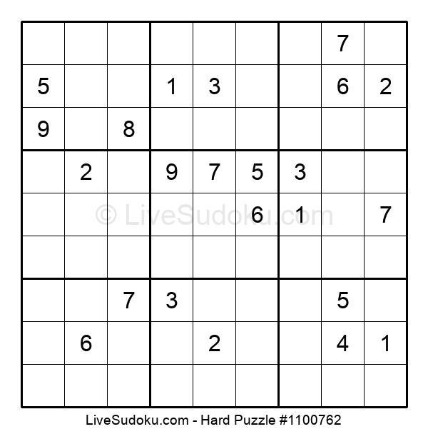 Hard Puzzle #1100762
