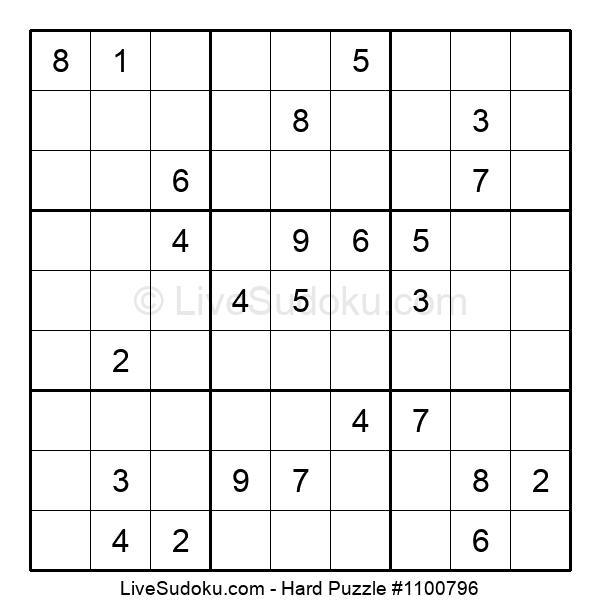 Hard Puzzle #1100796