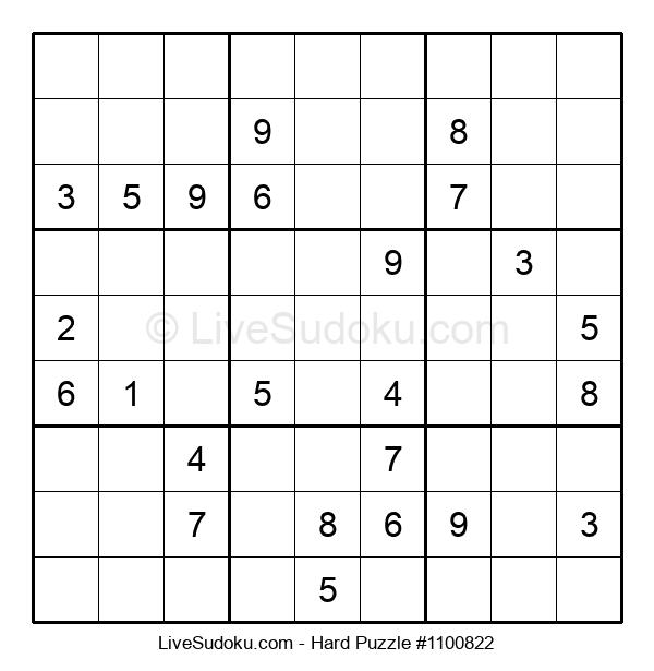 Hard Puzzle #1100822