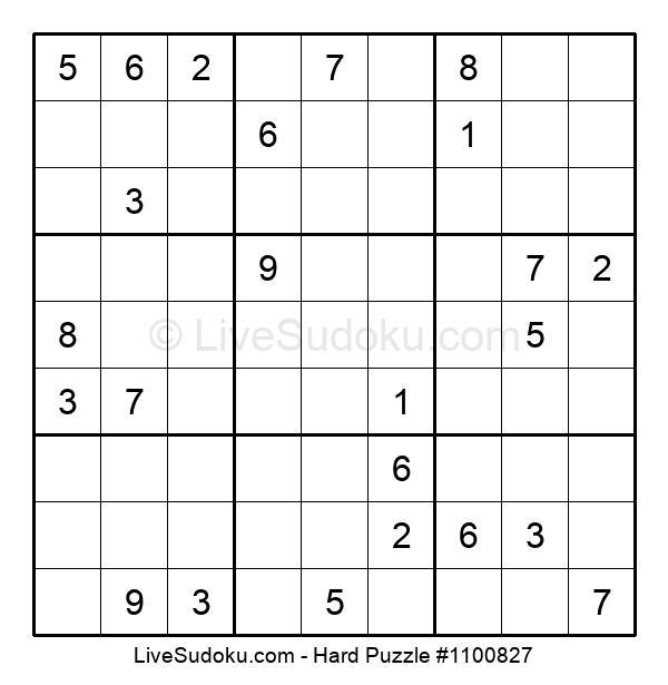Hard Puzzle #1100827