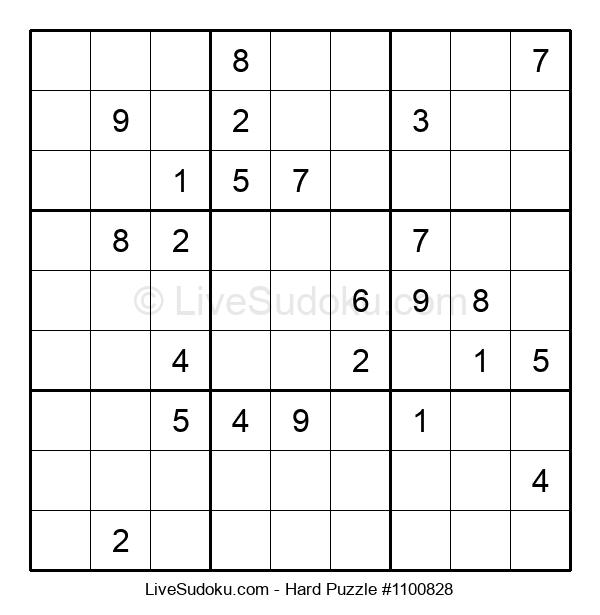 Hard Puzzle #1100828