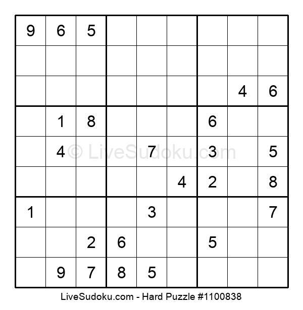 Hard Puzzle #1100838