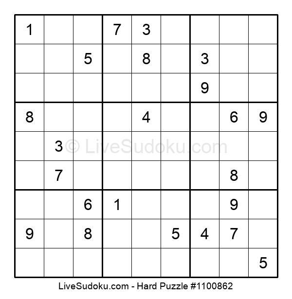 Hard Puzzle #1100862