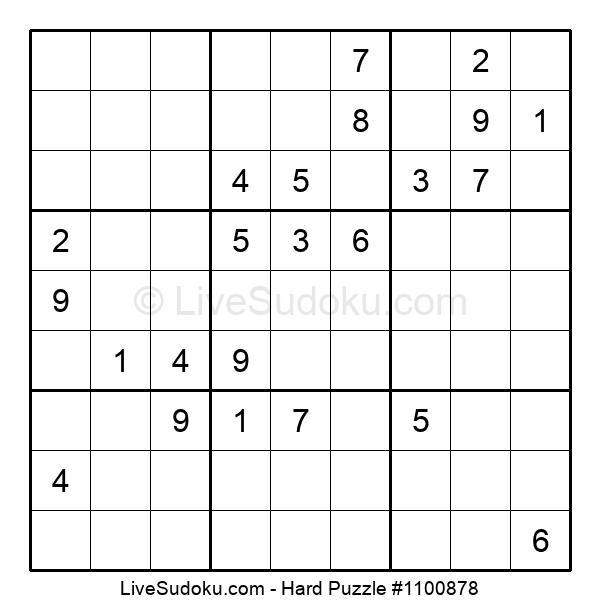 Hard Puzzle #1100878