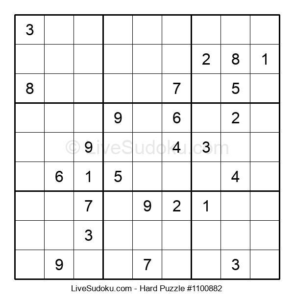 Hard Puzzle #1100882