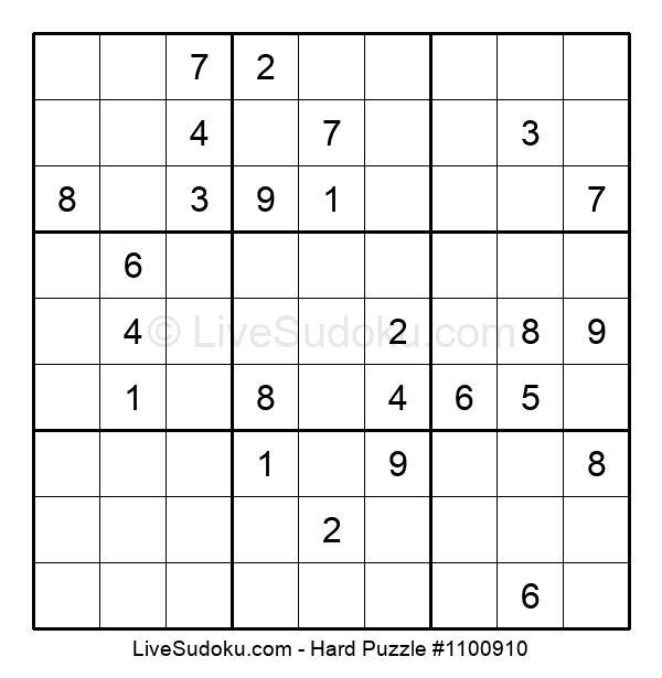 Hard Puzzle #1100910