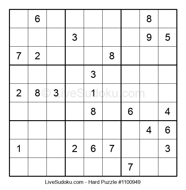 Hard Puzzle #1100949