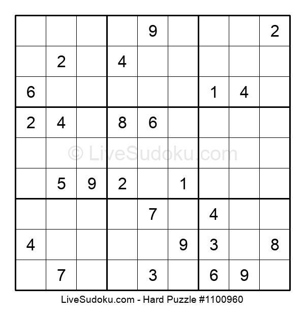 Hard Puzzle #1100960