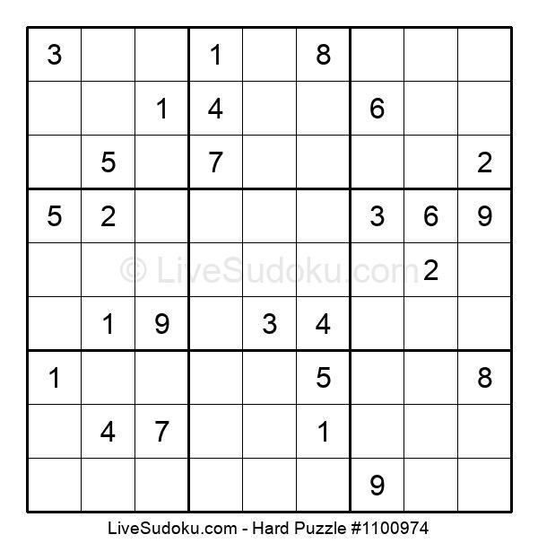Hard Puzzle #1100974