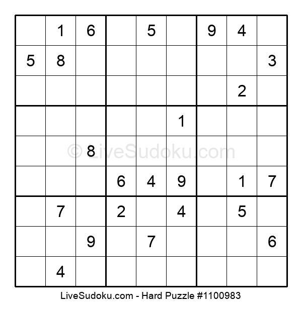 Hard Puzzle #1100983