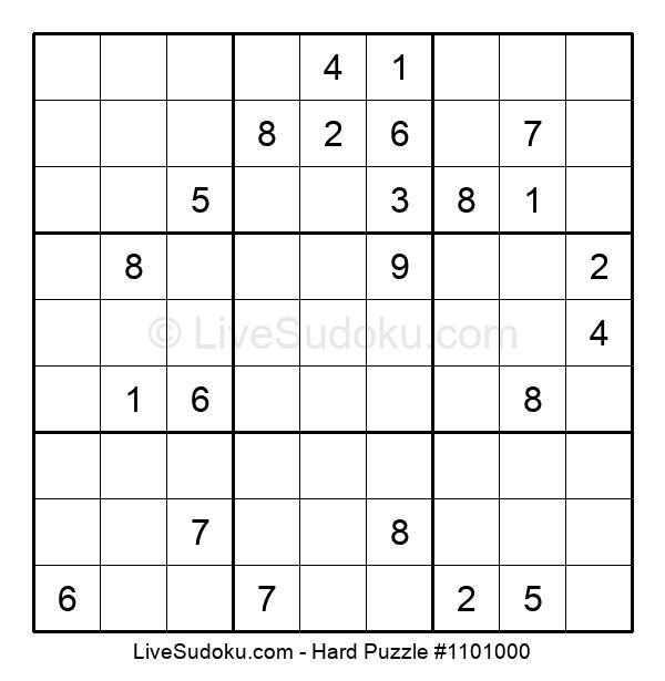 Hard Puzzle #1101000