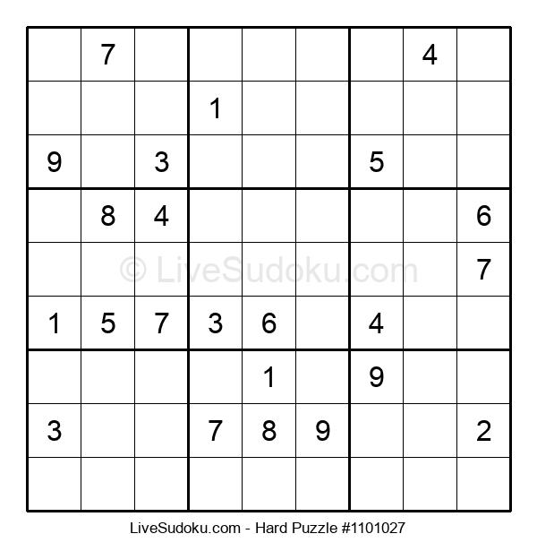 Hard Puzzle #1101027