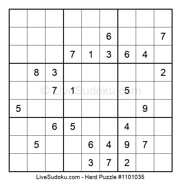 Hard Puzzle #1101035