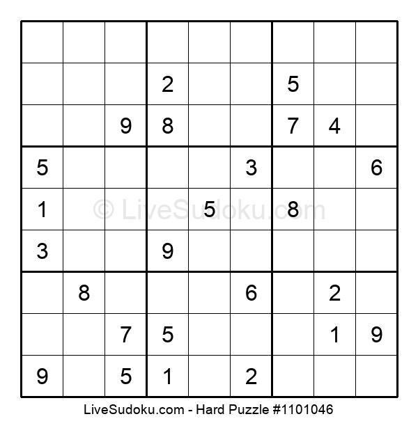 Hard Puzzle #1101046