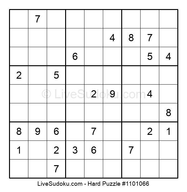Hard Puzzle #1101066