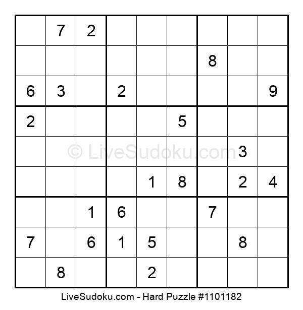 Hard Puzzle #1101182