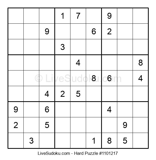 Hard Puzzle #1101217