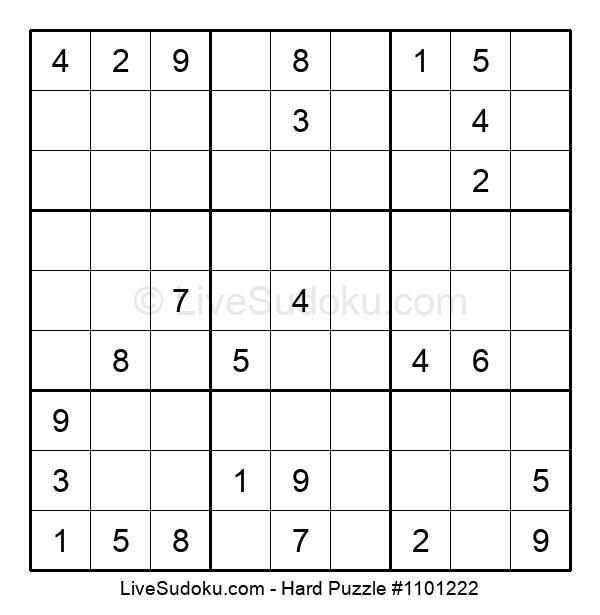 Hard Puzzle #1101222