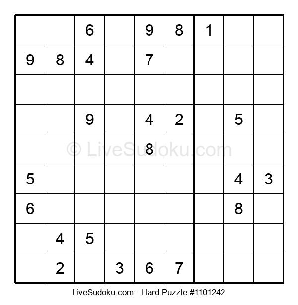 Hard Puzzle #1101242
