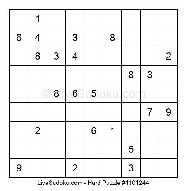 Hard Puzzle #1101244