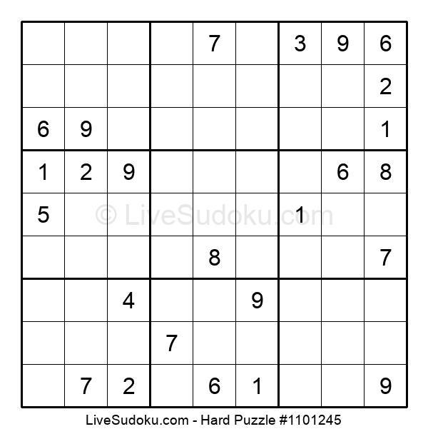 Hard Puzzle #1101245