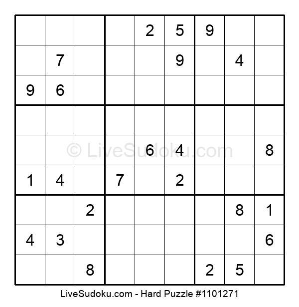 Hard Puzzle #1101271