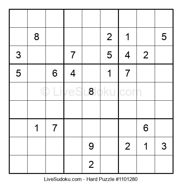 Hard Puzzle #1101280
