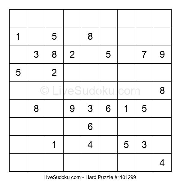 Hard Puzzle #1101299