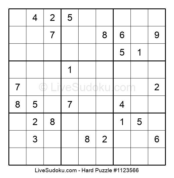 Hard Puzzle #1123566