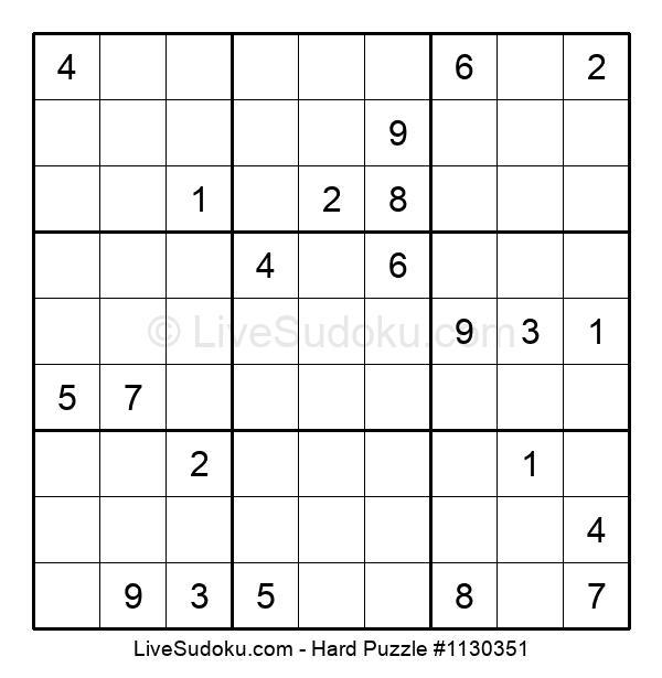Hard Puzzle #1130351