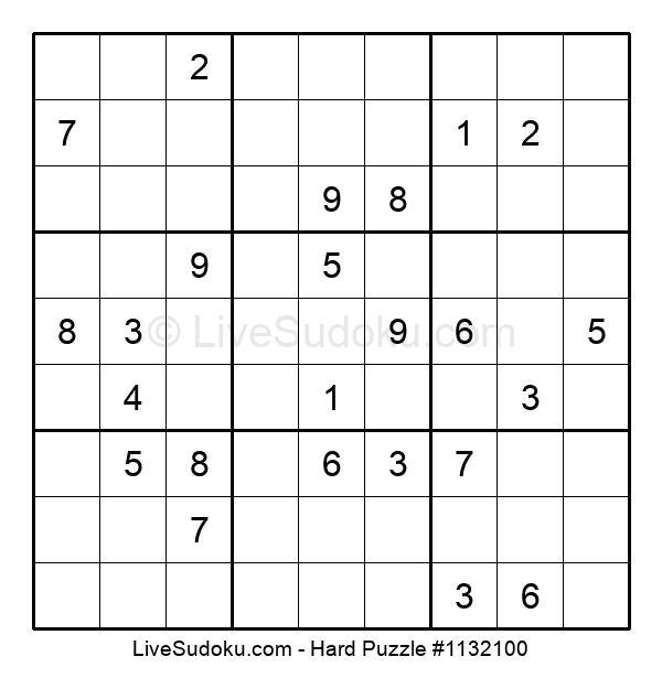 Hard Puzzle #1132100