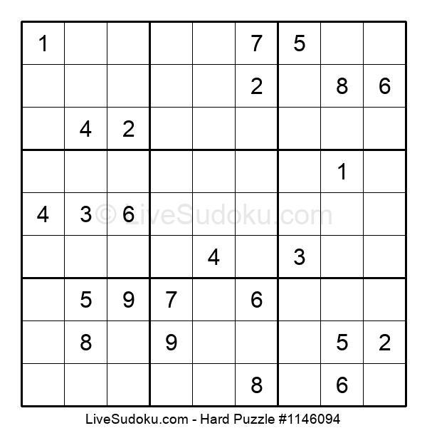 Hard Puzzle #1146094