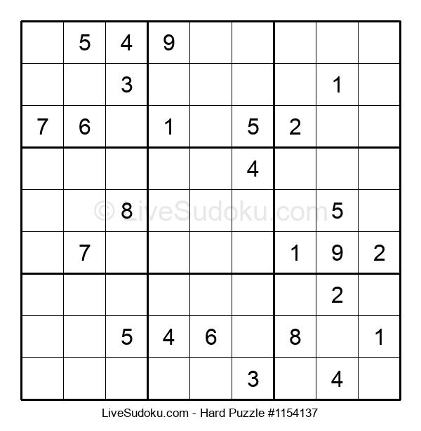 Hard Puzzle #1154137