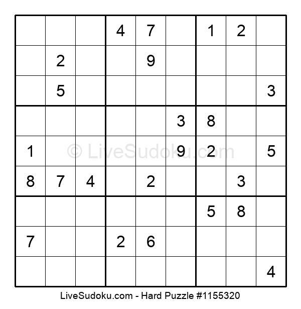Hard Puzzle #1155320