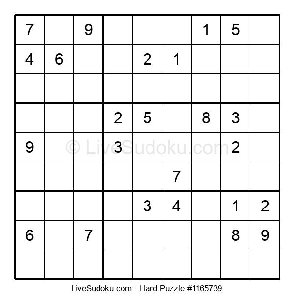 Hard Puzzle #1165739