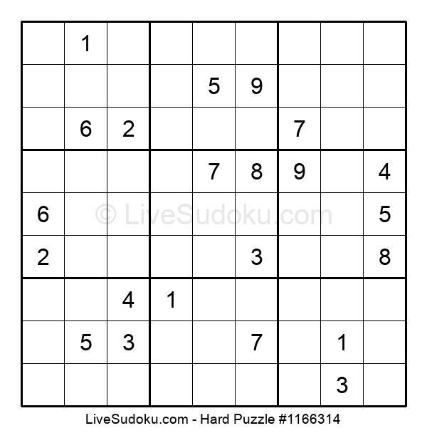 Hard Puzzle #1166314