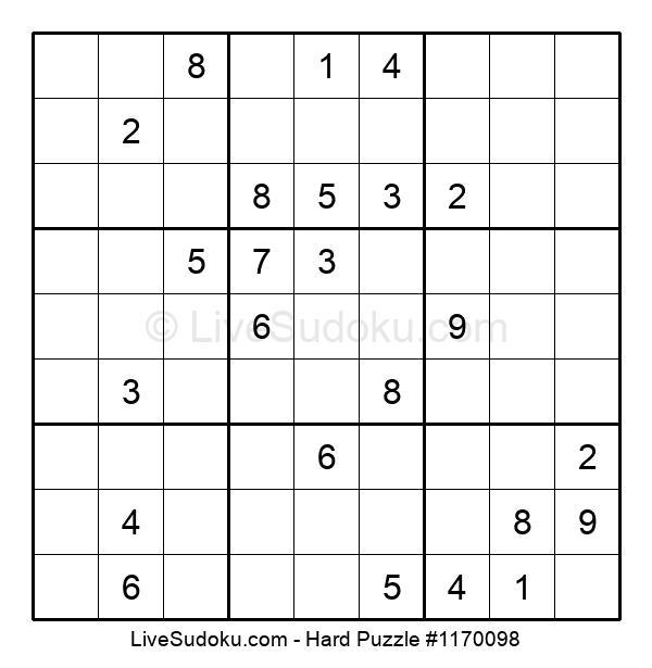 Hard Puzzle #1170098