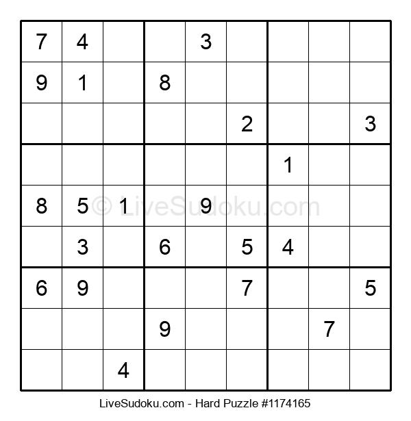 Hard Puzzle #1174165