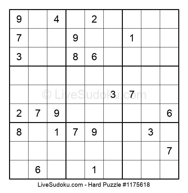 Hard Puzzle #1175618