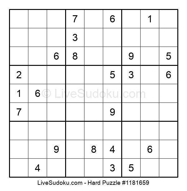 Hard Puzzle #1181659